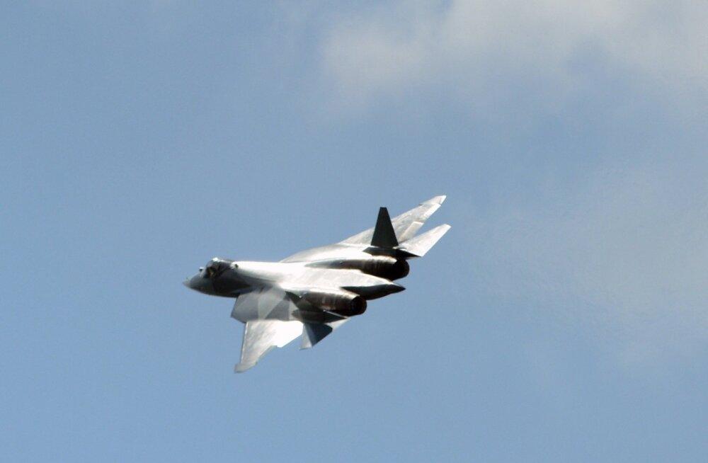 Venemaa uus, viienda põlvkonna hävituslennuk sai nimeks Su-57