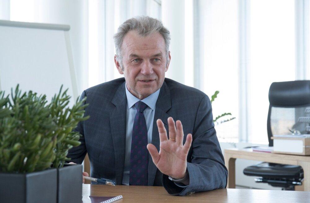 Endine Transiidikeskuse juht, nüüd Eesti Raudtee peadirektor Erik Laidvee