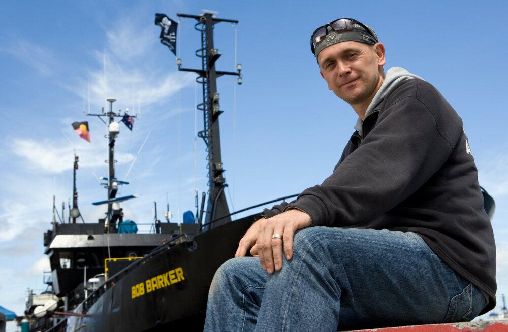 Merekaitsele pühendatud Taimetoidumessil esineb kuulus vaalakaitsja