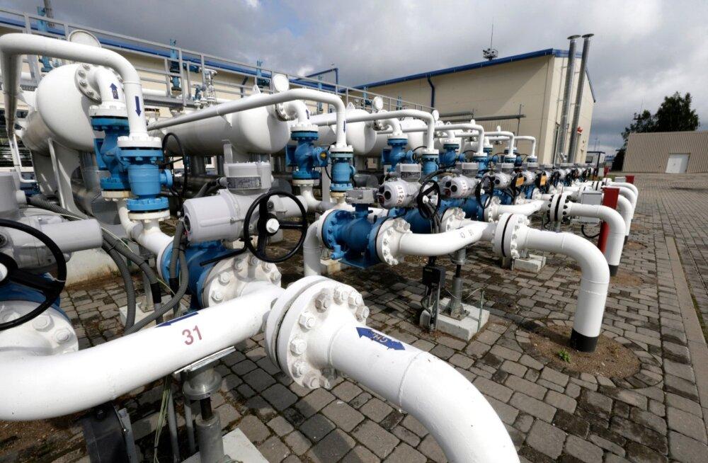 Telesaade: Putini KGB kooli kursusekaaslane peab läbirääkimisi Läti gaasihoidla ostmiseks