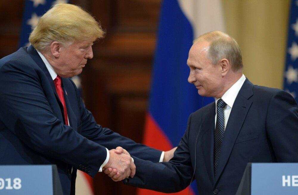 USA reaktsioonid Trumpi pressikonverentsile Putiniga: häbiväärne, reeturlik, vastik, ohtlik, nõrk