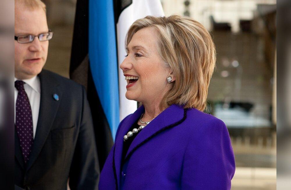 Хиллари Клинтон: за период независимости Эстония достигла значительных успехов