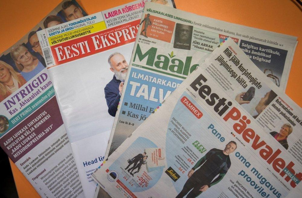 Kasuta võimalust: märtsis on Ekspressi, Päevalehe, Maalehe ja Delfi lugemine tasuta!