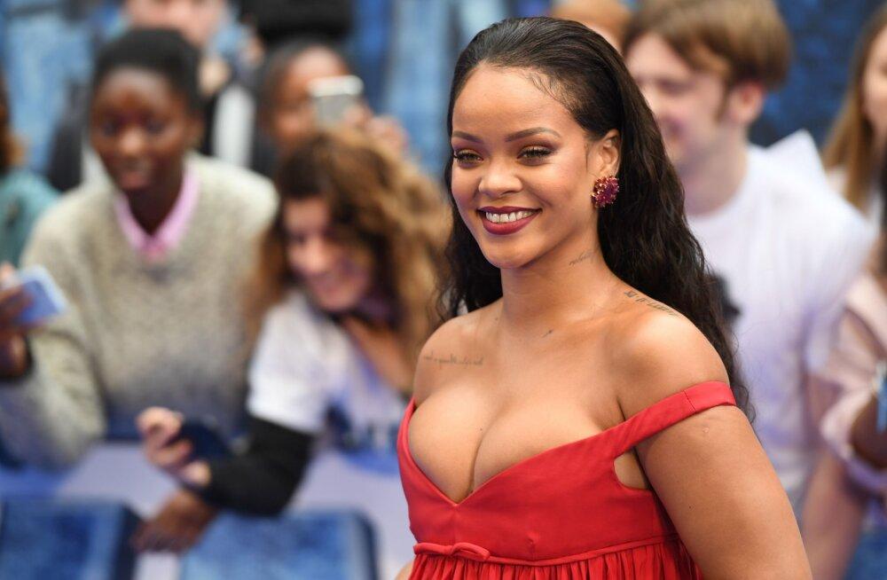 Sügavad lõhikud ja suured vormid: stiiliikoon Rihanna innustab naisi üle maailma järgima iseenda stiili