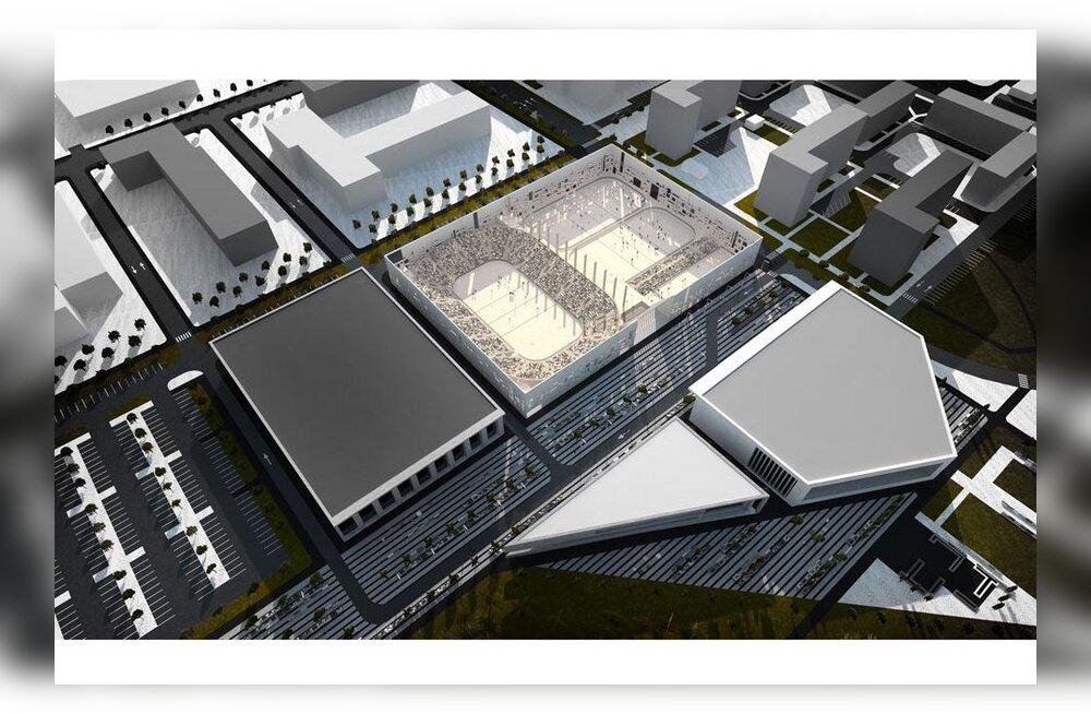 Tondiraba spordikompleksi ehitustööd algavad aasta lõpus, Väo golfiväljaku rajamine on endiselt tulevikumuusika