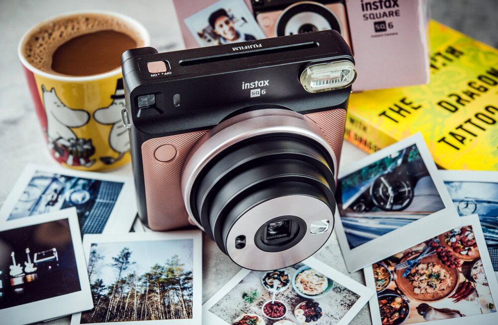 TEST | Instax Square SQ6 kiirpildikaamera – Fujifilm pani seekord täiega täppi