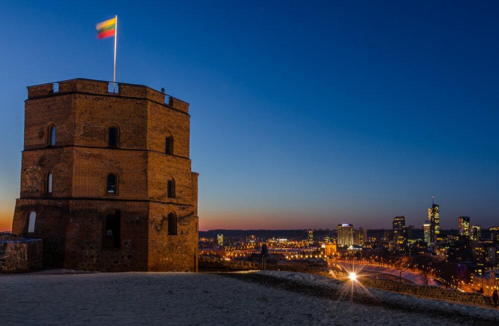 Жителей и гостей Вильнюса снова приглашают на башню Гедиминаса