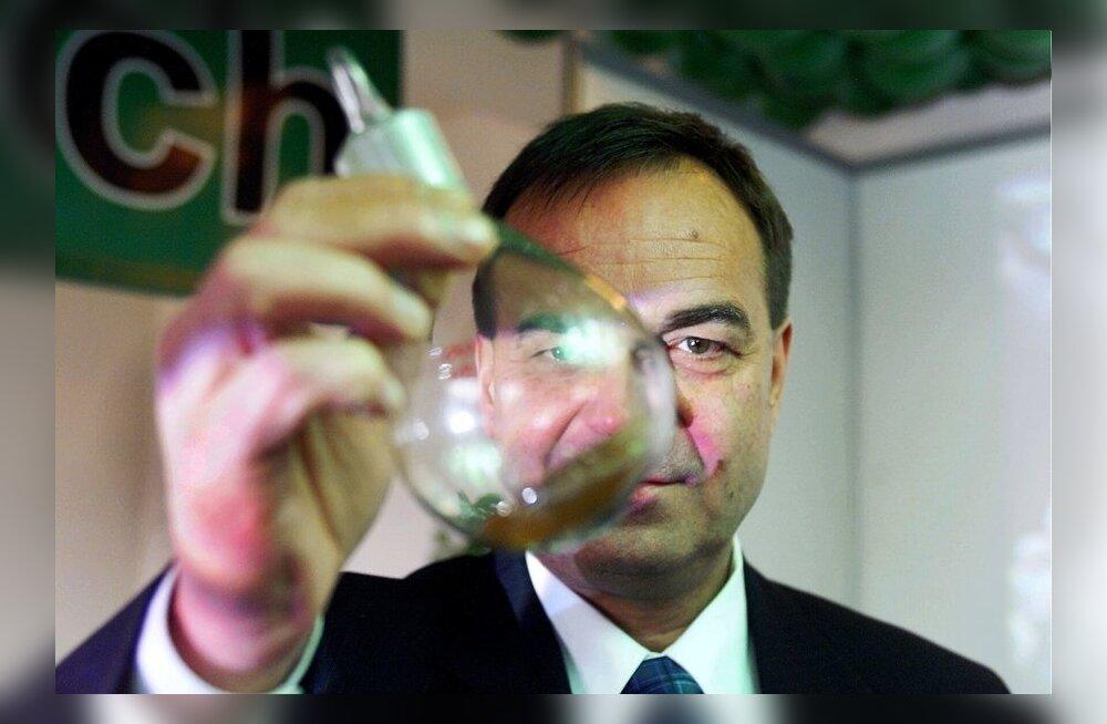 Vambola Kolbakov 2001. aastal, kui tema ettevõte rajas Põlvasse bioplastitehast.