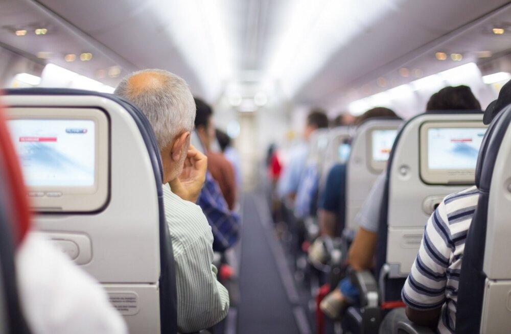 Ülekaaluliste reisijate tõttu võib pagas sihtkohta lennata teise lennuga