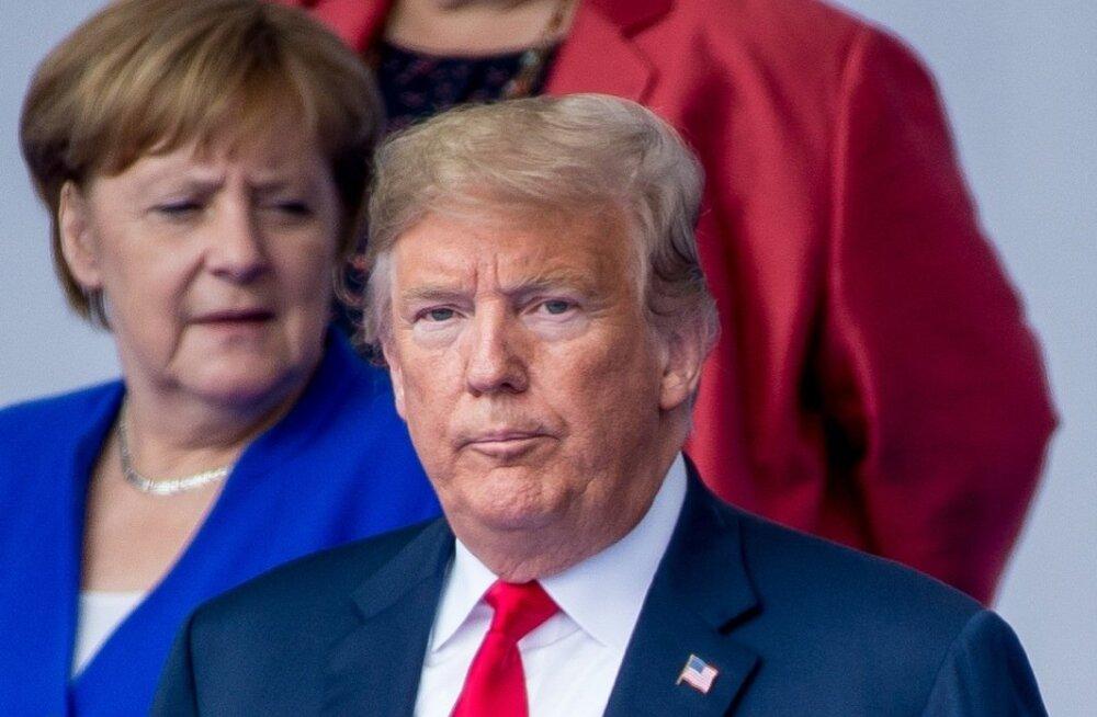 Trump jätkas hurjutamist: Saksamaa maksab riigile, kelle eest kaitset tahab, miljardeid energia eest