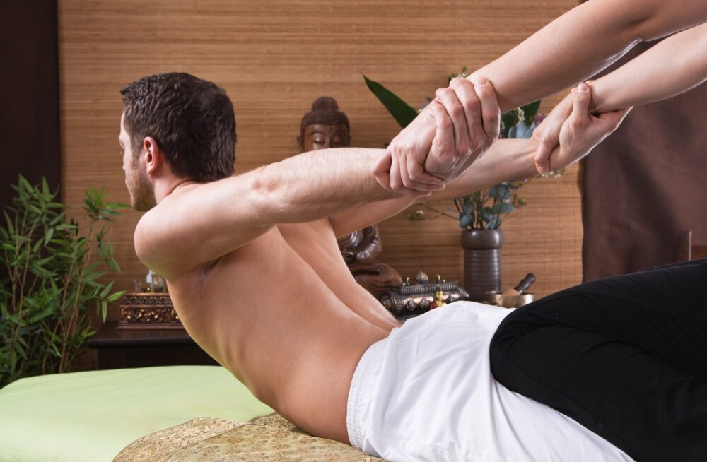 Tai massaaž põhineb venitustel.