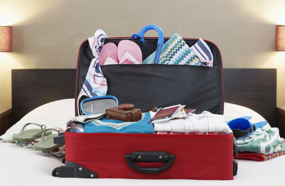 TÄPNE JUHEND | Reisipagasi pakkimine: mis paigutada suurde ja mis väikesesse kotti ning mida kanda kaasas sihtkohas ringi liikudes?