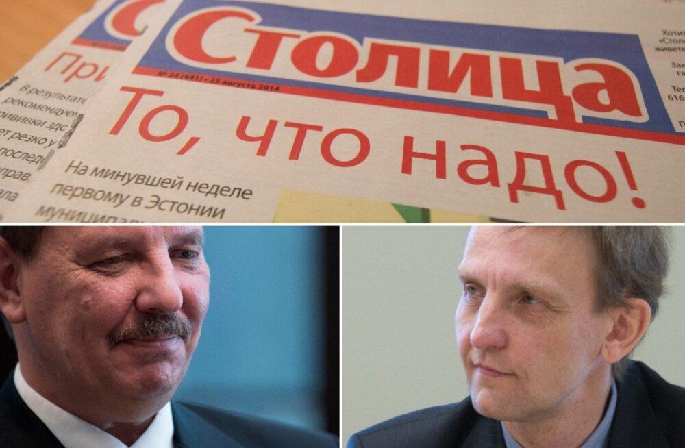 ERJK juht Ardo Ojasalu näeb Tallinna venekeelses trükises Stolitsa Stalini aja tunnuseid