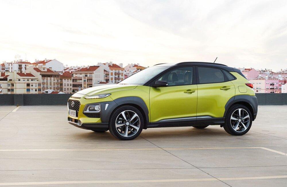 PROOVISÕIT | Hyundai Kona - tõsine trügija ka talvel