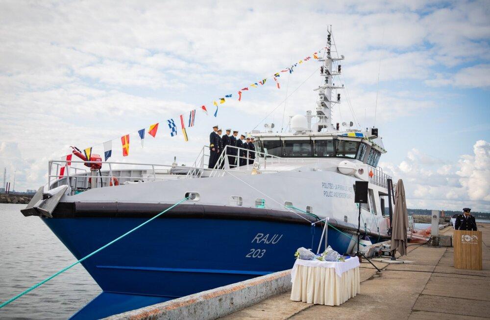 Saage tuttavaks: Raju, PPA uus reostustõrjevõimekusega patrull-laev
