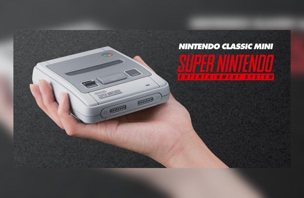 Nintendo järgmine hittkonsool: Super Nintendo Classic