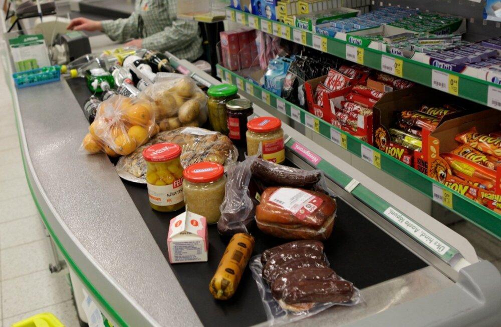 ostlemine, ostmine, kaubandus, söök, kauplus, tarbimine