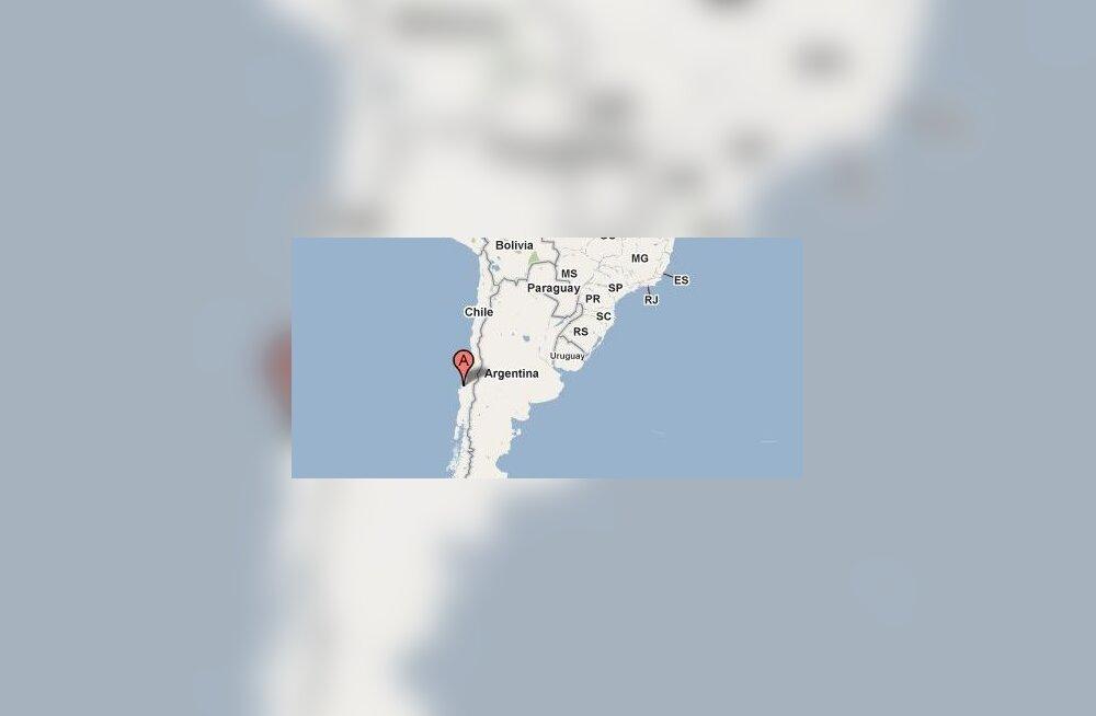 Tšiili kaart