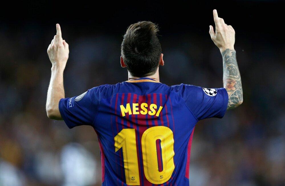 Lionel Messi on teinud seda jälle ja löönud Meistrite liigas järjekordse värava.