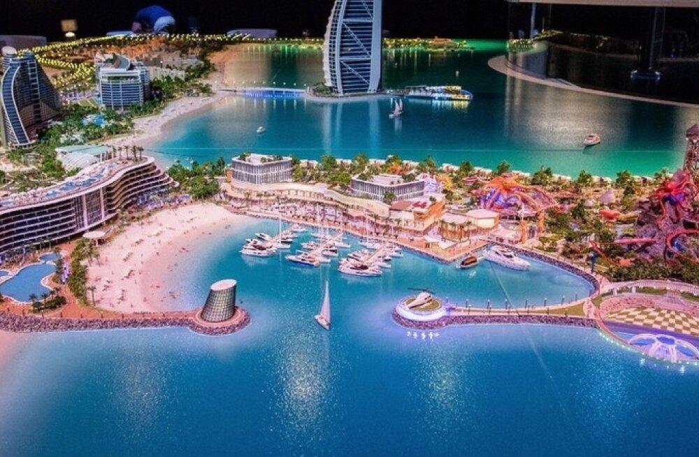 Marsa Al Arab: Dubai ehitab 1,7 miljardi eest endale uue saare
