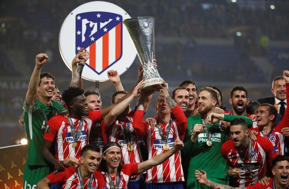 Madridi Atletico võitis Euroopa liiga