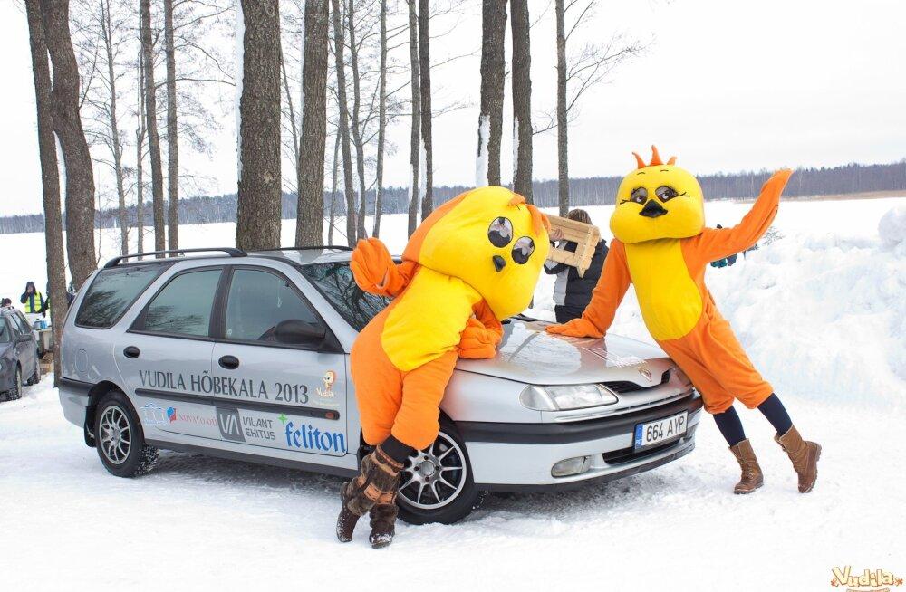 Vudila Hõbekalalt võib lahkuda nii Volkswagen Golfi kui sõudepaadiga