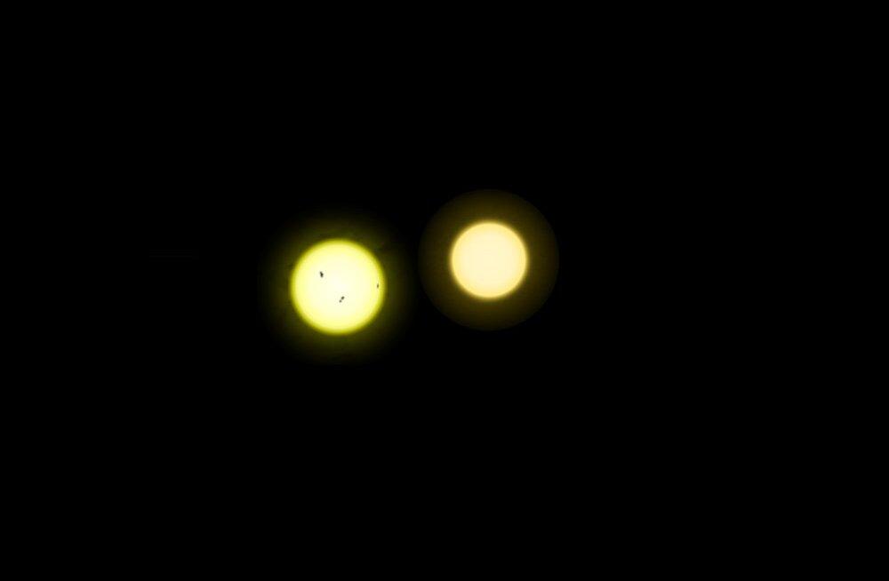 Astronoomid leidsid lähima Päikese-laadse tähe ümbert neli Maale sarnanevat planeeti