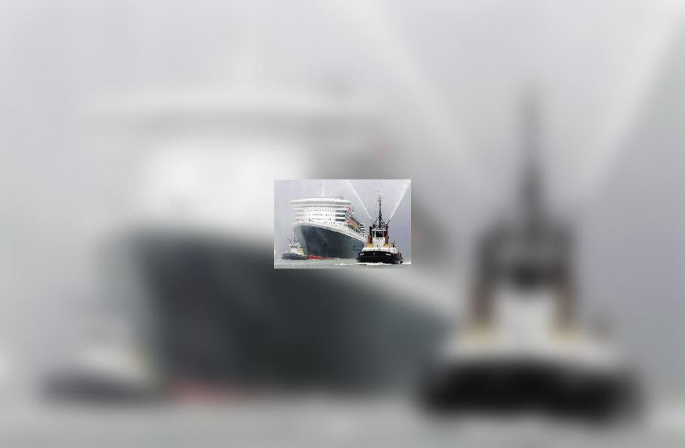 Queen Mary 2 lõpetas neitsireisi ja jõudis Floridasse