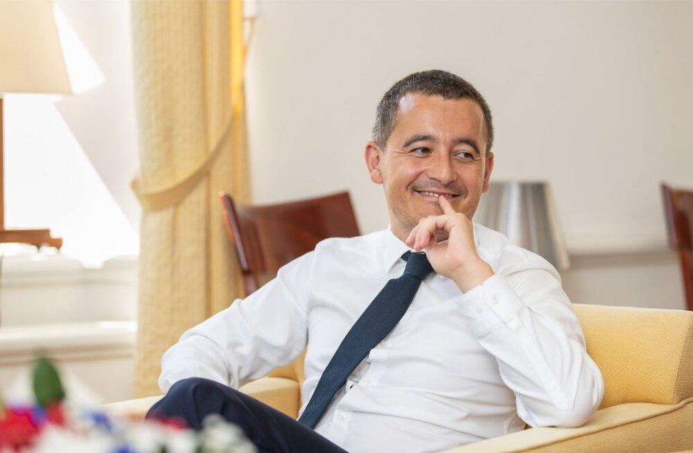 Gérald Darmanin märkis, et eelarvepoliitikas peaksid prantslased Eestilt õppima.