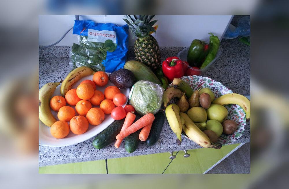 Oma toitumist muutsin kardinaalselt (pilt illustreeriv - taimetoitlaseks ei hakanud :))