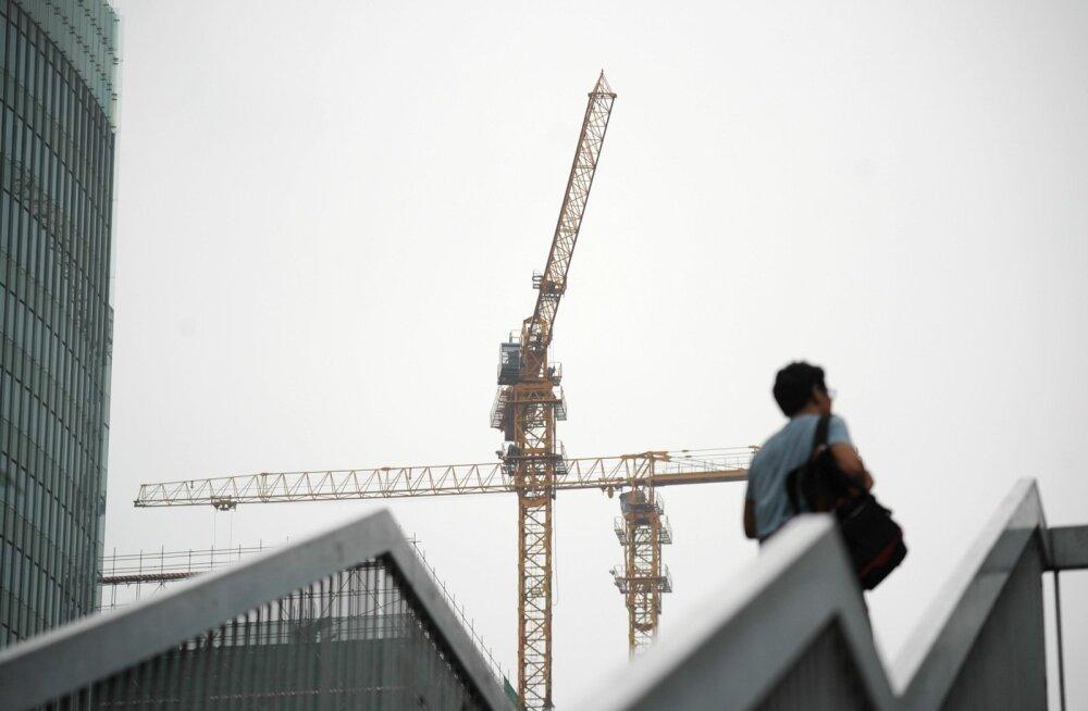 Hiina majandus kasvas tugeva kinnisvaraturu toel 6,9%.