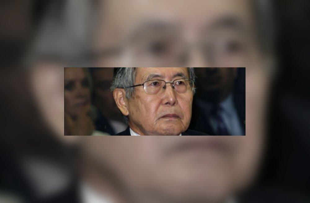 Endine Peruu president mõisteti 25 aastaks vangi