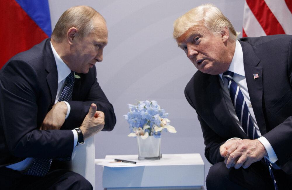 Kreml: Trump ja Putin kohtuvad homme Vietnamis