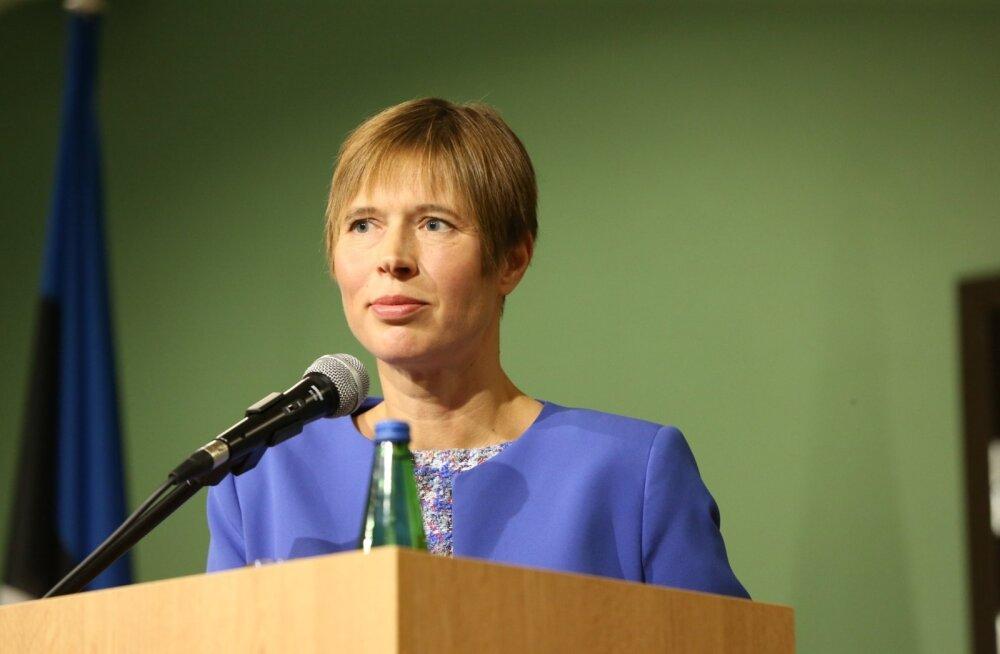 Juhtkiri   President Kaljulaid püsib pinnal