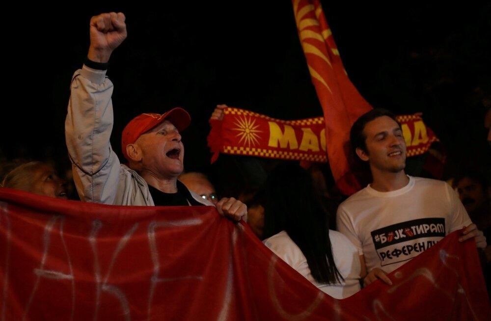 Nimemuutuse vastastel on põhjust rõõmustada – Makedoonia valitsus ei suuda ilmselt põhiseadust muuta.