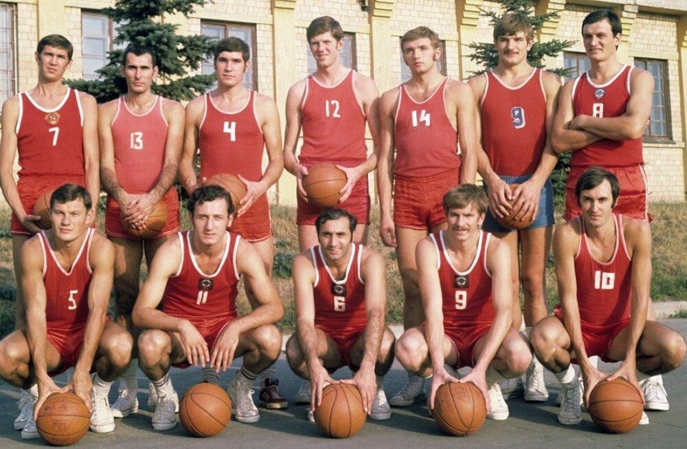Nõukogude Liidu korvpallikoondis