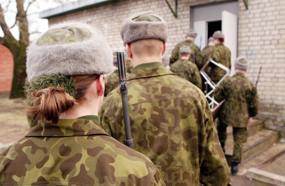 Ждут ли Силы обороны Эстонии в свои ряды женщин?
