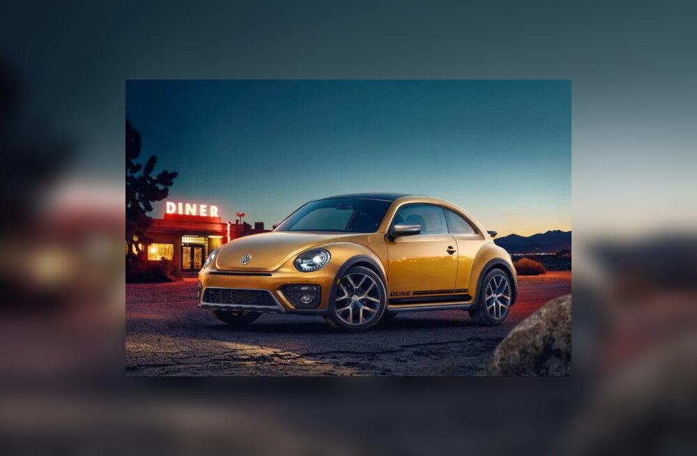 Põrnikas läheb pensionile: Volkswagen lõpetab Beetle'ite tootmise