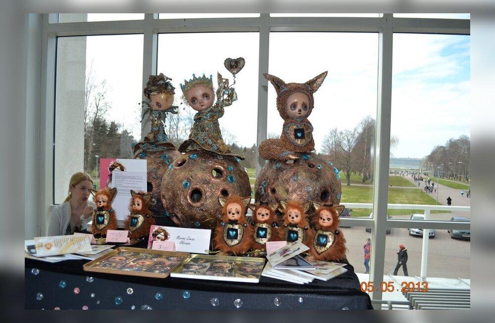 ФОТО читателя Delfi: Потрясающей красоты выставка авторской куклы в Таллинне