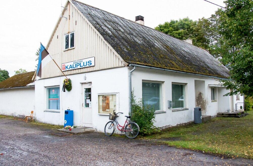Saaremaal Pöide vallas Kõrkvere külas suleti 81 aastat ja 2 päeva rahvast teeninud pood