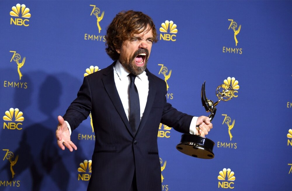 Peter Dinklage sai Tyrion Lannisteri rolli eest kolmanda Emmy auhinna.