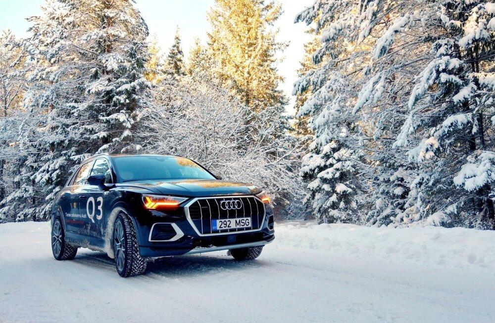Uus Audi Q3 saab oma ülesannetega hästi hakkama, ruumikuse armastajatele ei valmista samuti pettumust.