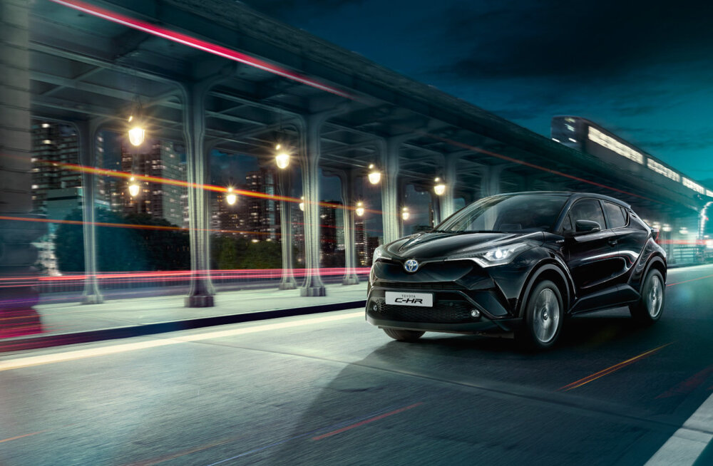 PROOVISÕIT: Kujunduspõhine Toyota C-HR