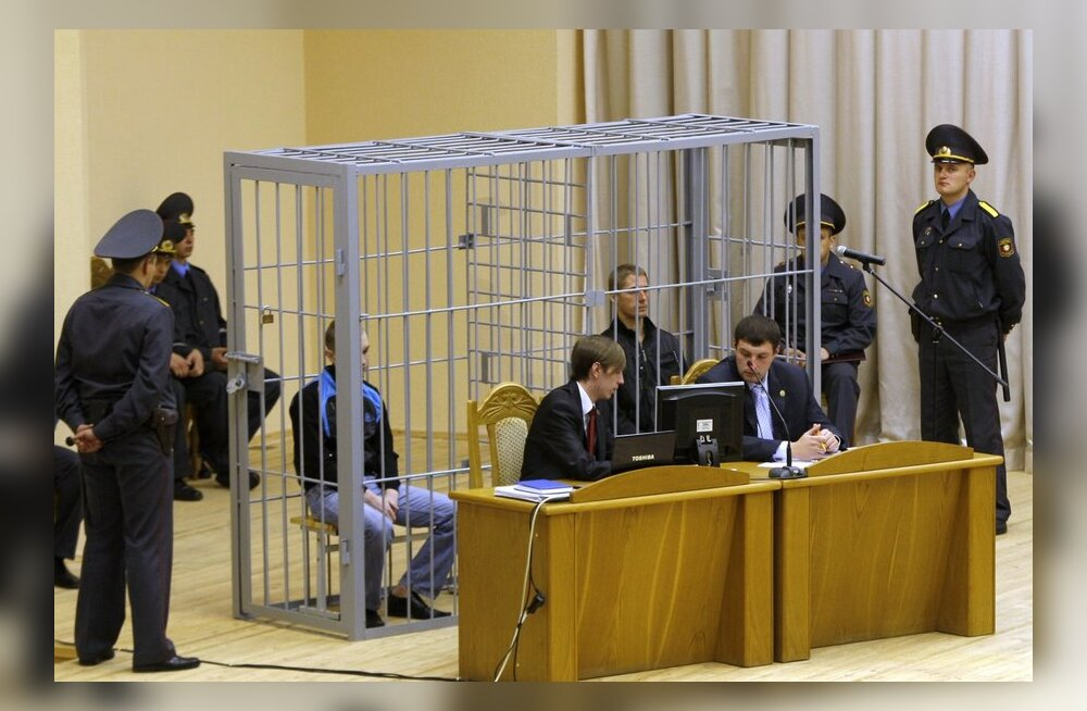 Valgevene kohus mõistis Minski metrooplahvatuse korraldajad surma