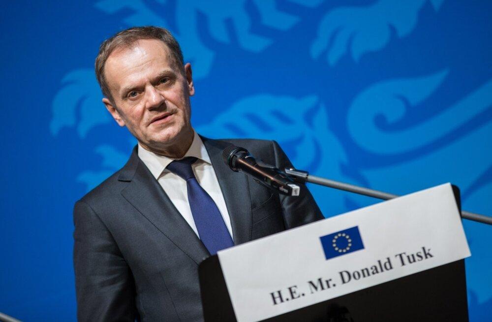 Euroopa ülemkogu eesistuja Donald Tusk: selliste sõpradega nagu Trump tekib küsimus, milleks veel vaenlasi vaja on
