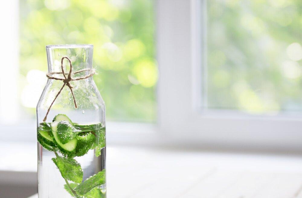 3 märki sellest, et su keha vajab hädasti vett