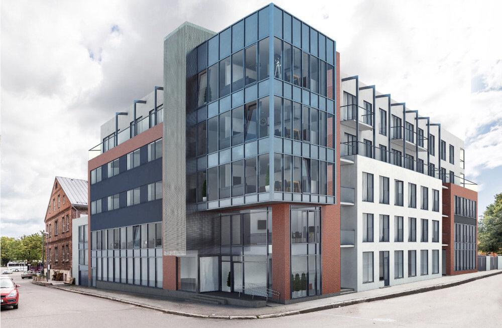 Viis miljonit maksev Malmö Maja saab nurgakivi