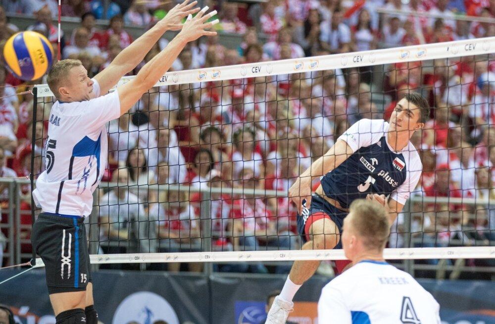 Võrkpalli EM Eesti-Poola