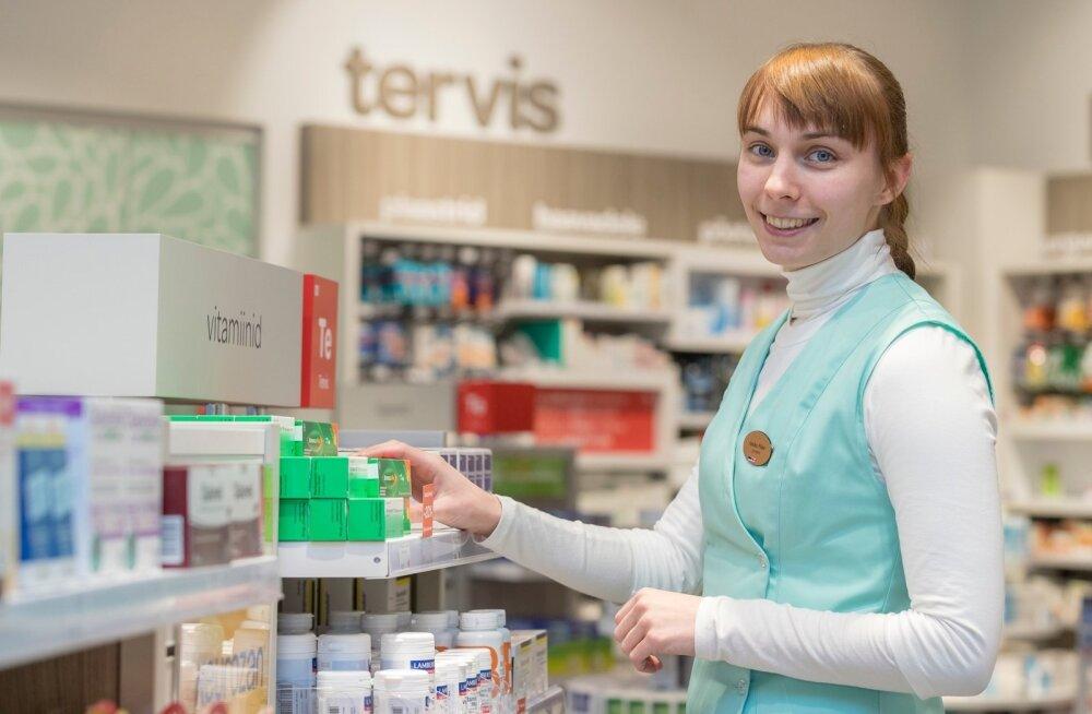 Eestisse jõudis 4000 pakendit Tamiflud ja Viru keskuse Apotheka apteeker Annika Põder saab ilmselt üsna pea jälle soovijatele gripiravimit müüa.