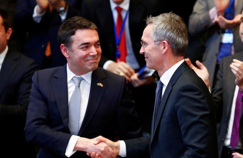 Makedoonia allkirjastas liitumisleppe NATO-ga